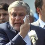 Former Finance Minister Ishaq Dar