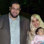 Sarah and her husband Khalid alqzaz donate memorial photos