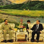 Army chief General Raheel Sharif met with Chinese Foreign Minister Wang Yi