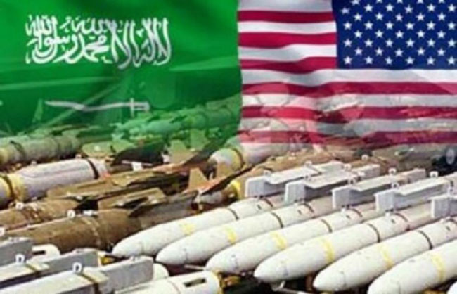 Saudi Arabia is the world's biggest weapon buyer country