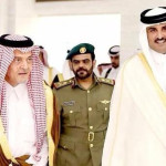 Saudi Arabia's Foreign Minister Prince Saud al-Faisal visited Qatar