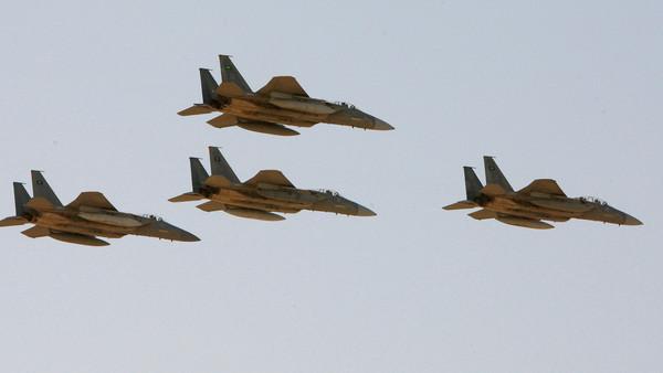 Saudi air force bases to attack rebels in Yemen