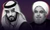 Saudi Crown Prince Mohammed bin Salman and Iranian President Hassan Rouhani
