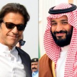 Saudi Crown Prince Mohammad bin Salman and Pakistan PM Imran Khan