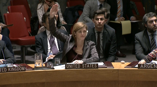 Palestinian anti-Israel resolution in the Security Council fails