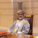 Sultan Haitham bin Tariq, ruler of the Sultanate of Oman