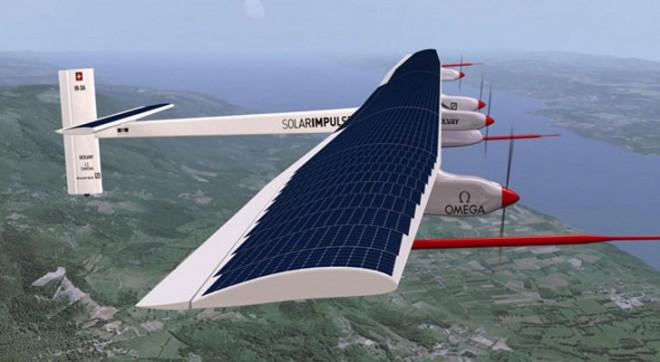 Swiss company's solar aircraft Solar Impulse 2