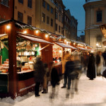 Every year in Sweden's capital Stockholm, the ancient Christmas market has been celebrated this year