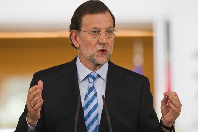 Spain's Prime Minister Mariano Rajoy