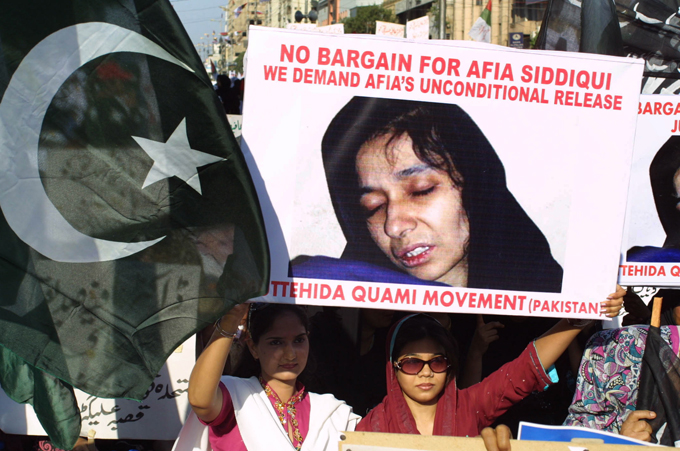 The CIA had given $ 55,000 to the kidnappers of Dr. Aafia Siddiqui