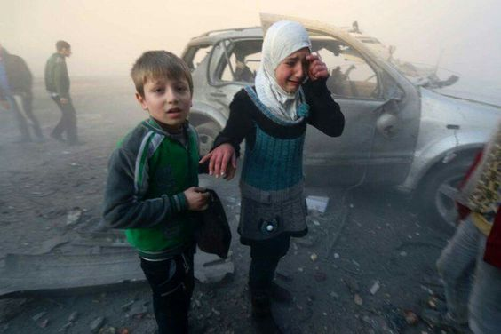 The civil war in Syria 27 million children deprived of education: report