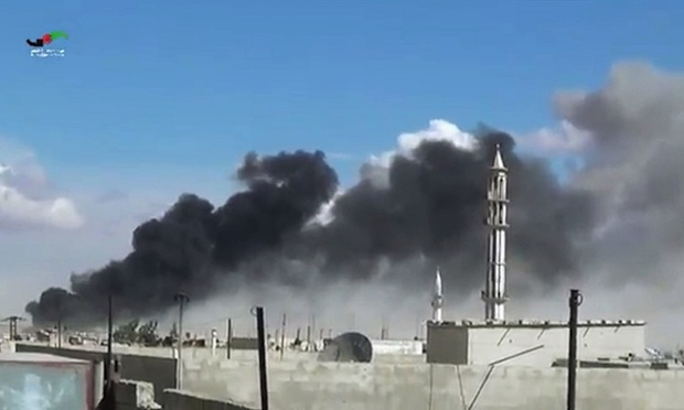 Russian air strike kills 48 members of one family in Syria