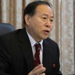 Han Song Ryol, director-general of the department of U.S. affairs at North Korea's Foreign Ministry