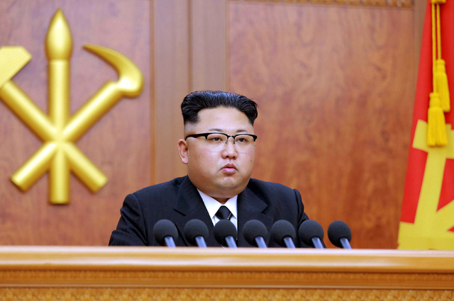 Addressing the Rolling Working Party of the Central Committee of the Party, Kim Jong Un, the North Korean leader