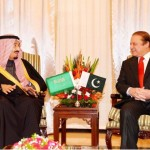 Prince Salman bin AbdulAziz and Mian Mohammad Nawaz Sharif, Prime Minister of Pakistan meeting