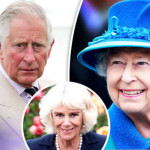 Prince Charles, his wife Camilla Parker and Queen Elizabeth II