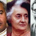 Sheikh Mujibur Rahman, Indira Gandhi and Zulfiqar Ali Bhutto