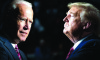 Presidential candidate Donald Trump and Democratic candidate Joe Biden