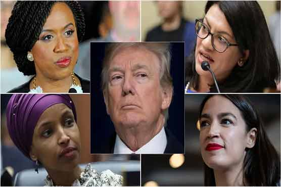 President Donald Trump, the newly immigrant Democratic Women's Party, left the United States, gave a referral to his native country.
