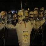 Many students felt the same burning up effigies of Ravana to BJP leaders on the pictures