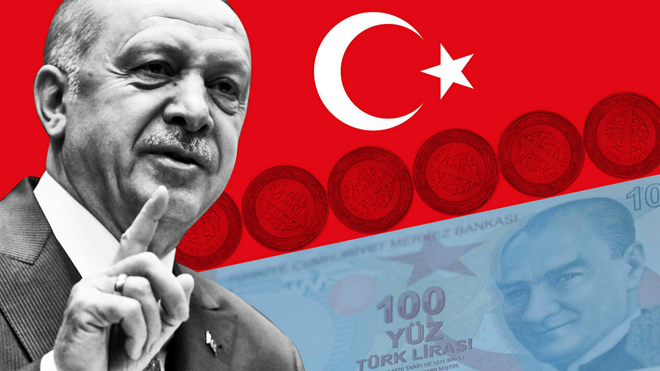Turkish lira is losing value against global currencies