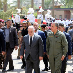 Iraqi PM in Baghdad's Green Zone open to the public