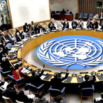 Arab countries of the independent state of Palestine in the UN Security Council resolution