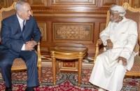 Sultanate of Oman Sultan Qaboos and Israeli Prime Minister Benjamin Netanyahu