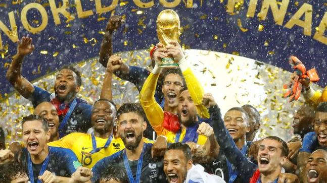 France defeated Croatia after 20 years became the world championship again