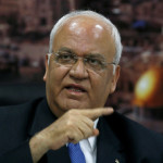 Saeb Erekat, the head of Palestinian administration negotiations