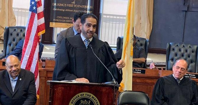 Palestinian judge Abdul Majeed Hadi