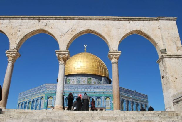 Palestine is called the Land of Holy Prophets