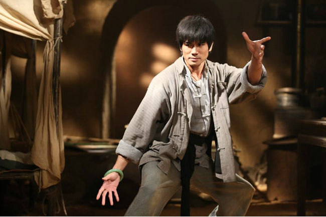 Bruce Lee's main role in film is Philip NG