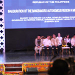 The inauguration of the independent Muslim area of Mindanao (BARMM) Cotabato in the Philippines