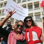 Thousands of Lebanese protest against corruption