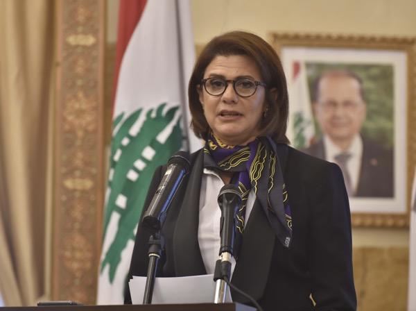 Lebanon's Interior Minister Raya El Hassan