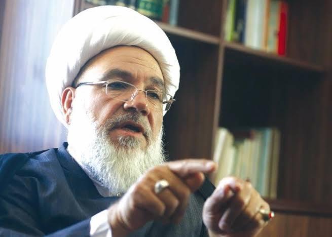 Subhi al-Tufayli, the leading Lebanese Shiite scholar of Lebanon