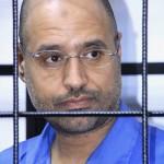 Saif al-Islam Gaddafi, son of Libyan slain Muammar Gaddafi