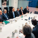 Pakistani delegation led by Finance Minister Asad Umar participated in the IMF/WB spring meetings