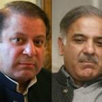 PML-N chief Nawaz Sharif, Chief Minister Punjab Shahbaz Sharif