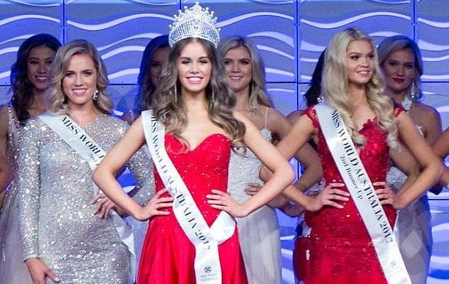 The Miss World Australia's crown of 2017, the name of the Muslim girl Esma Voloder, who sheltered Bosnia