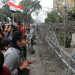 Continuation of the ongoing protests in Egypt
