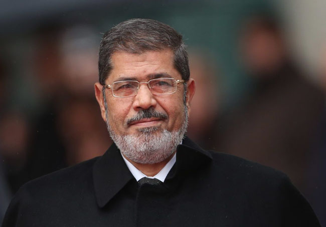 Former Egyptian President Dr Muhammad Morsi