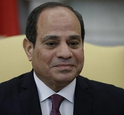 Egyptian President Abdul Fattah al-Sisi