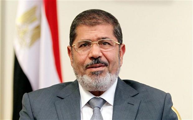 Ousted President Mohamed Morsi
