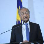 Malaysian Prime Minister Mahathir Mohammad