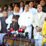 Maulana Fazl-ur-Rehman says collective opposition to all opposition from the assemblies is under consideration
