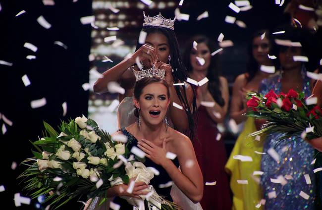 Miss USA 2020 title bears Virginia biochemist Camille Schrier
