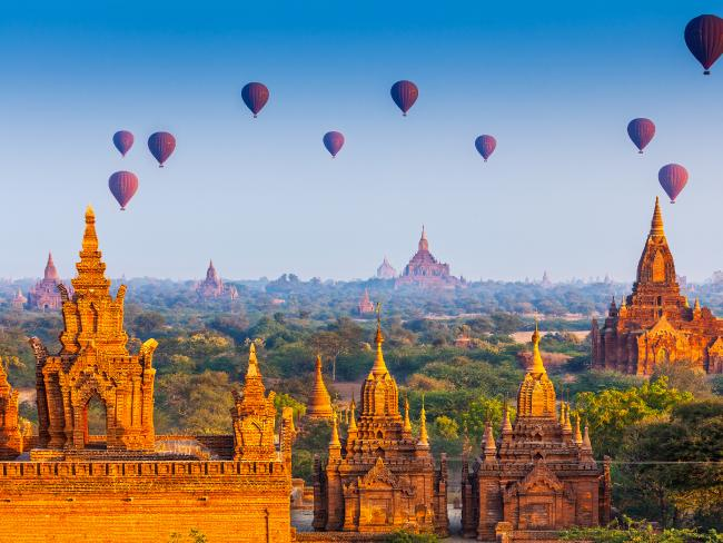 Myanmar had emerged as a bucket list destination in recent years