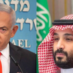 Media reports also claimed that Netanyahu and Saudi Crown Prince Mohammed bin Salman had a secret meeting.